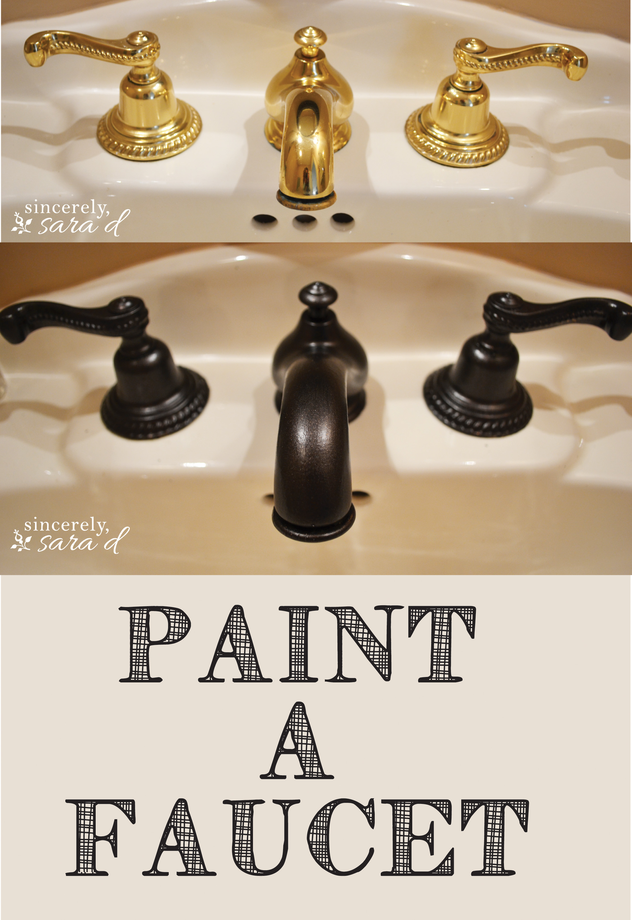 Can You Spray Paint Faucet