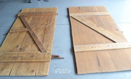 Barn Door Headboard 3