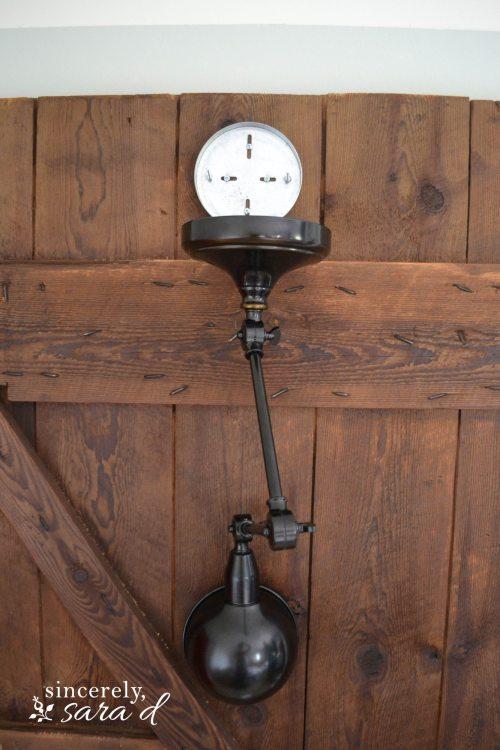 Barn Door Headboard 6