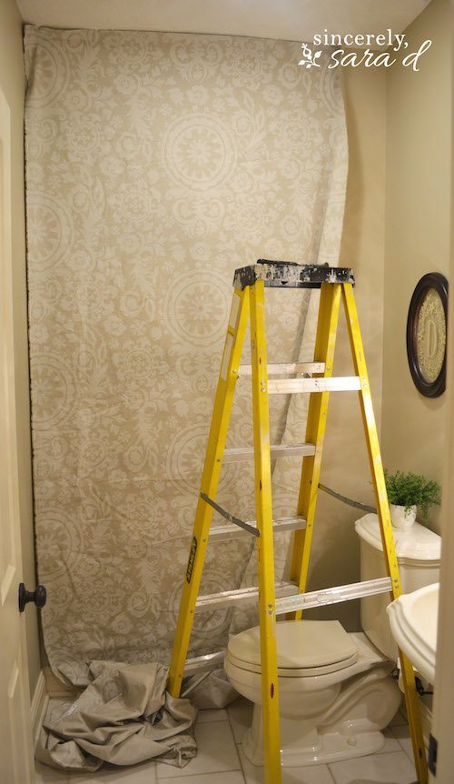Starched Fabric Wall Dry Fit