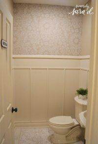 Bathroom Wall Paneling | Sincerely, Sara D.