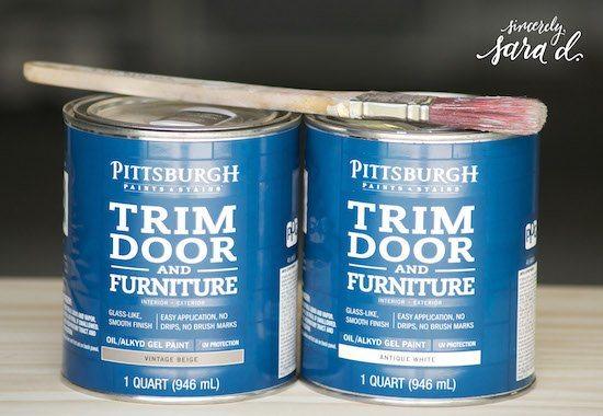 Pittsburgh Paints Trim Door & Furniture Paint