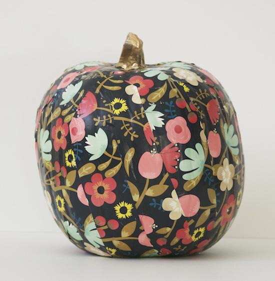 Floral Pumpkin DIY