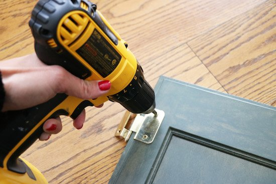 Remove Hardware before Chalk Paint