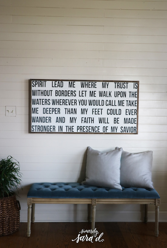 How to install shiplap