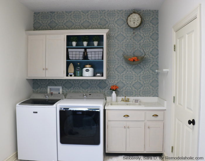 Laundry Room DIY Makeover. copy