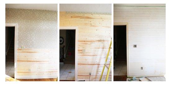 Shiplap Wall DIY Tutorial