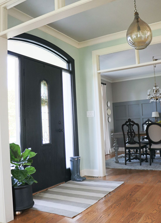 Entry Makeover with Frog Tape