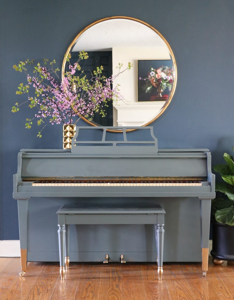 Painting a Piano Tutorial
