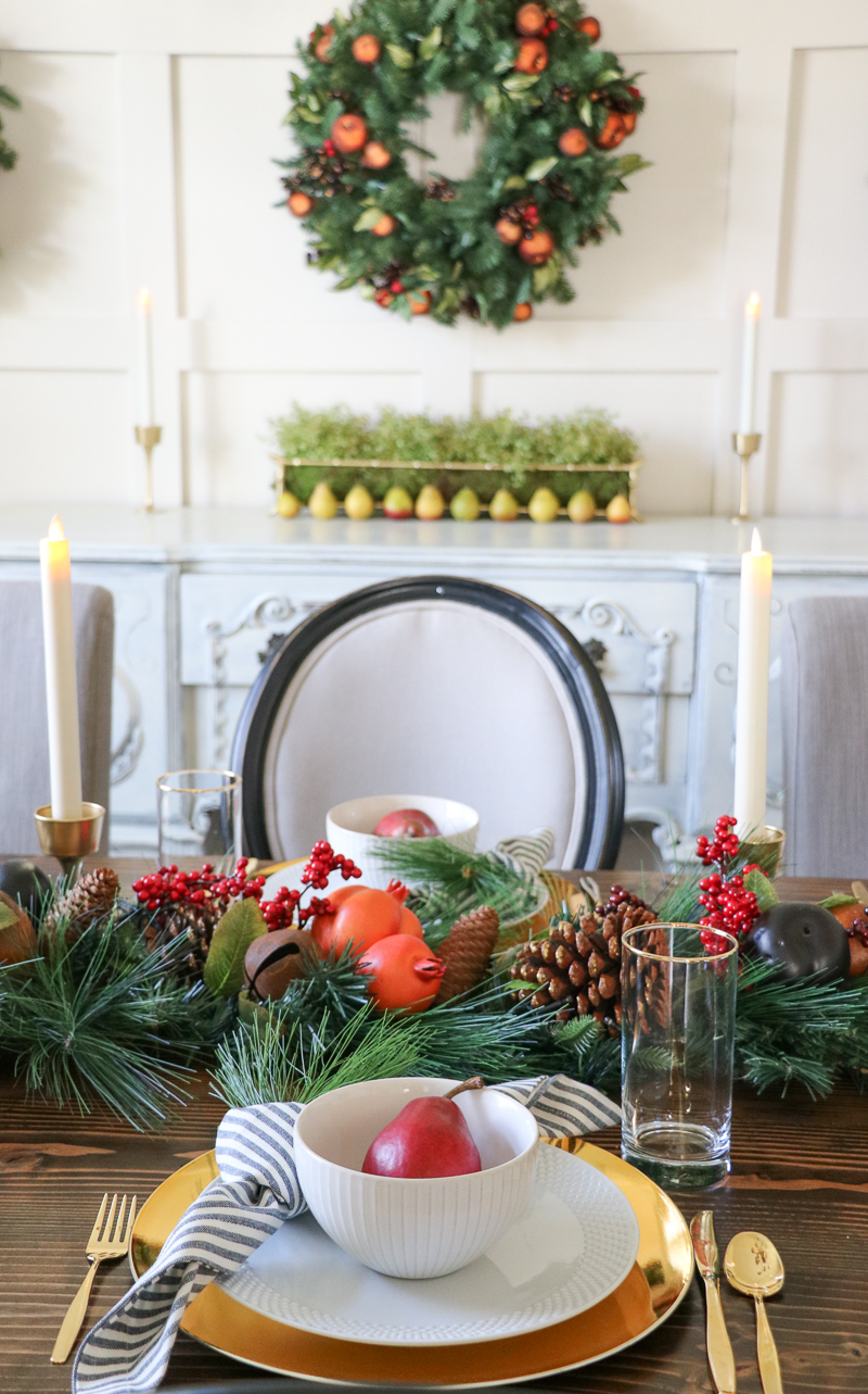 A Holiday Tablescape - Tips for creating a beautiful table