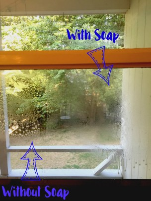 window spray test