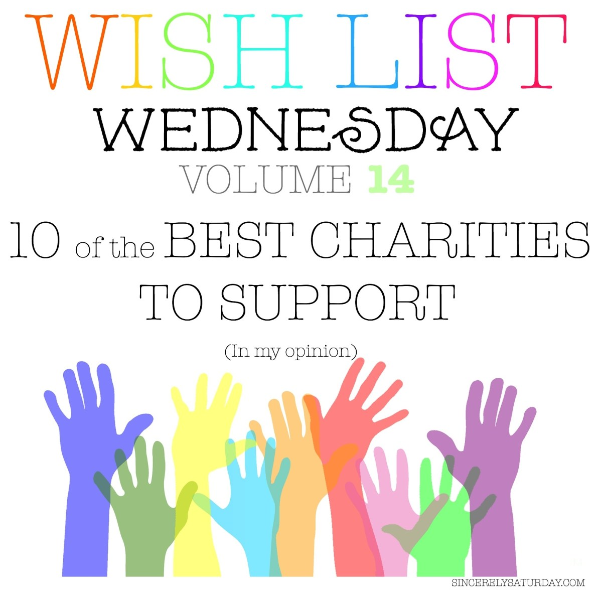 10 OF THE BEST CHARITIES TO SUPPORT