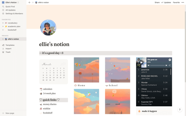 Learn how to set up Notion as a student!