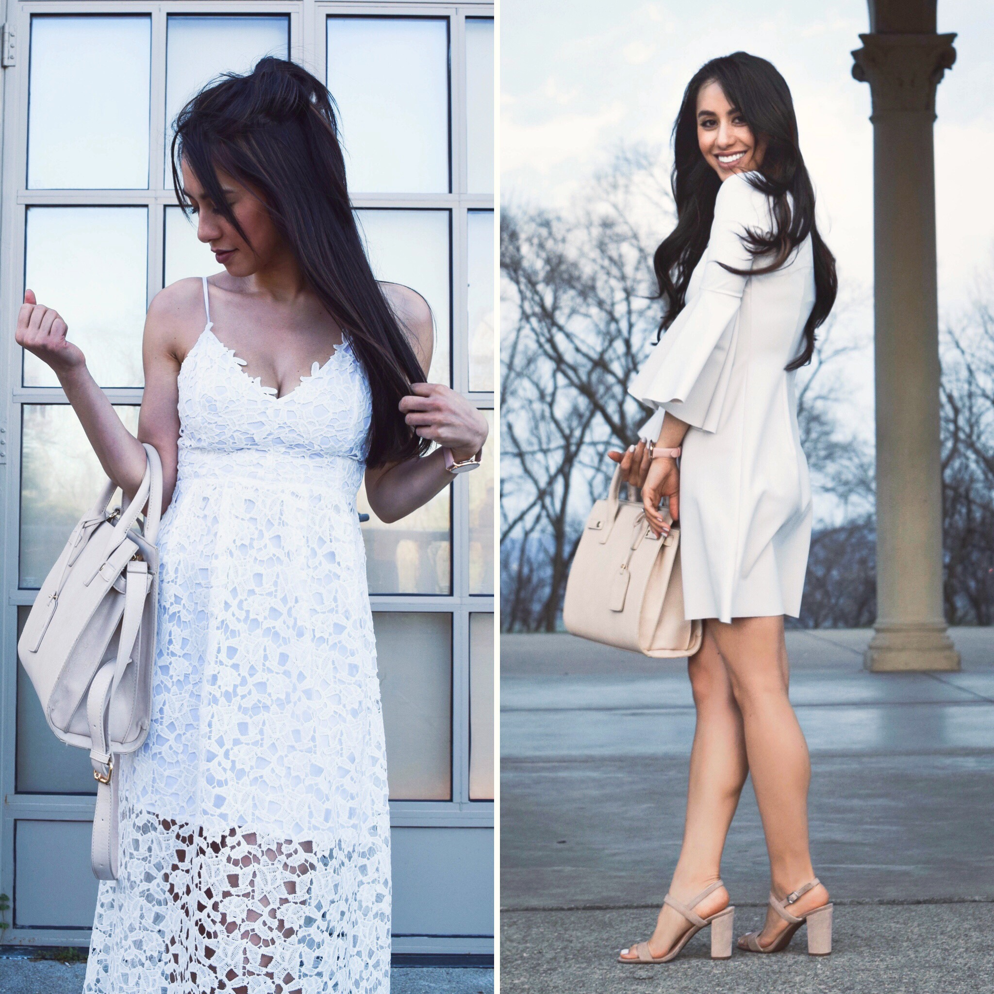 WHITE DRESS EDIT: Options for the Bride-to-be, Grad, or Celebrating Mom