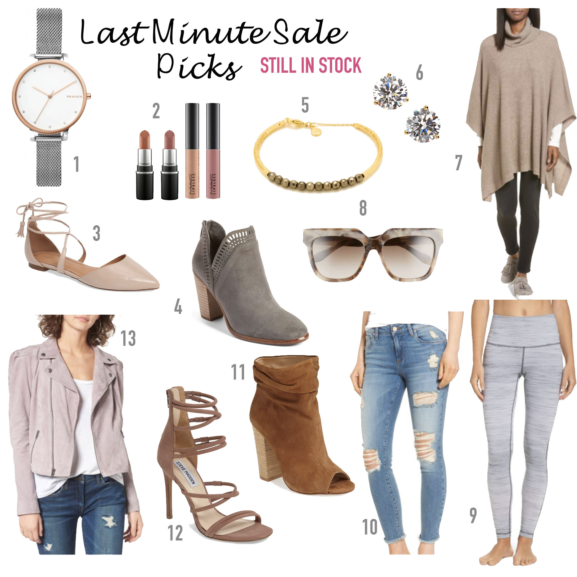 0152df4b3 Nordstrom anniversary sale still in stock sunglasses watch jeans leggings  moto jacket booties flats jewelry makeup