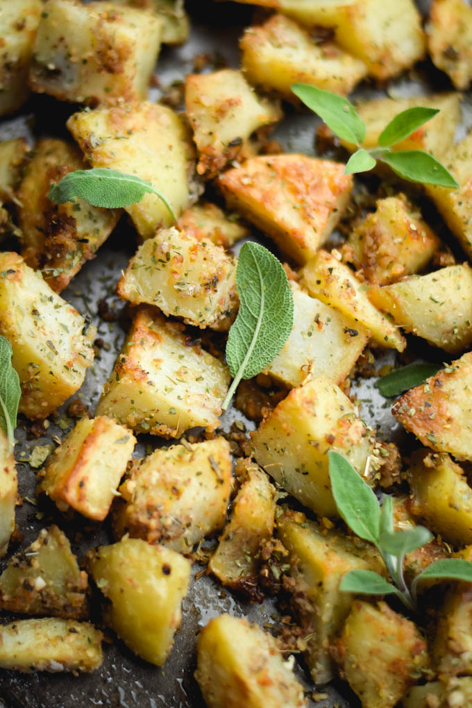 warm-sage-almond-pesto-roasted-potato-salad-4
