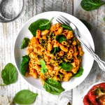 easy vegan chickpea mac and cheese