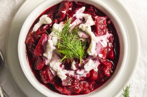 ukrainian borscht vegetarian
