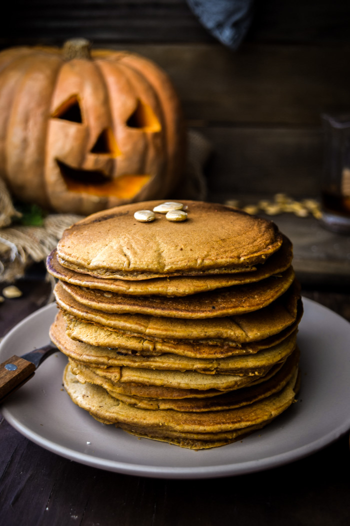vegan best pumpkin pancakes recipe