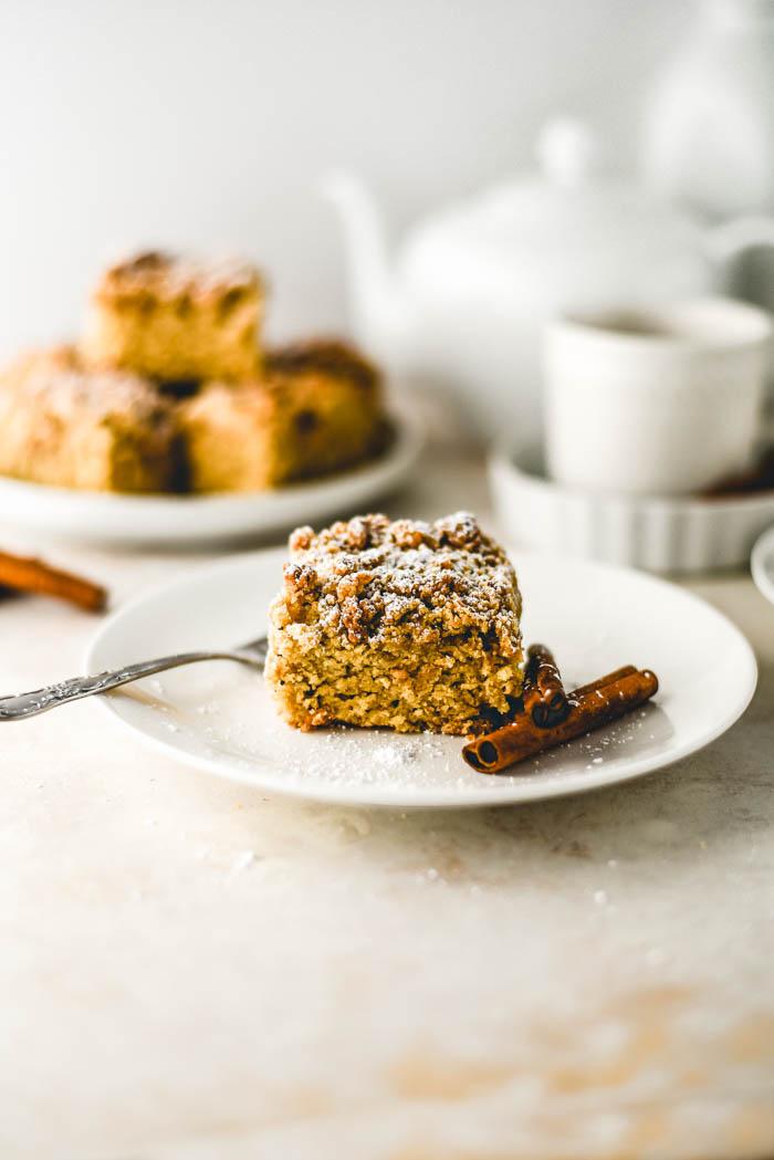 vegan crumble cake
