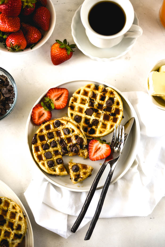 vegan waffles easy and yummy