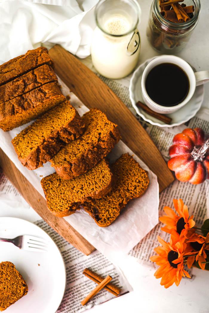 vegan pumpkin bread healthy