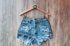 Denim High Waisted Elephant Shorts Daze & Amaze