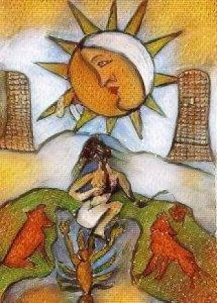 awakening through tarot book
