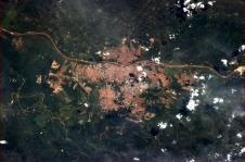 Teresina, Brasil. Photo shared by Col. Chris Hadfield.