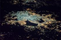 Mexico City, one of the largest metropolitan areas on Earth. Photo shared by Col. Chris Hadfield.