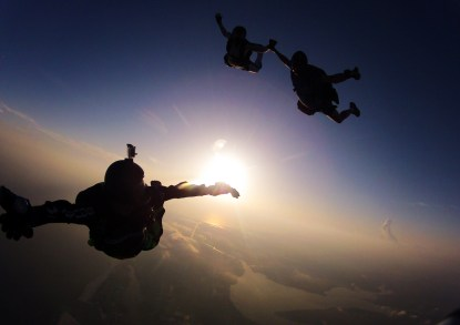 Skydiving. Definitely will happen one day!! Source