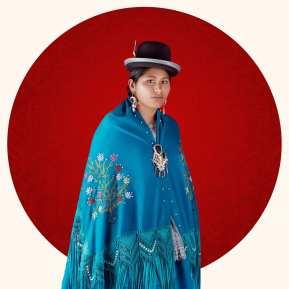Portrait of a Cholita in La Paz