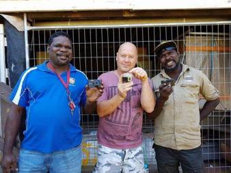 'Watch out you mob all over Tiwi, these countrymen are armed with deadly cameras and will make you famous.......keep an eye out for the Sinchi Photographic Project' Wayne Quilliam, Sinchi Project Director .
