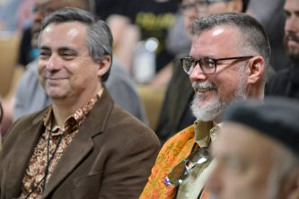 ANAHEIM, CALIFORNIA - JANUARY 16: Guests attend The 2020 NAMM Show Opening Day on January 16, 2020 in Anaheim, California. (Photo by Jerod Harris/Getty Images for NAMM)
