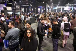 ANAHEIM, CALIFORNIA - JANUARY 16: Guests attend The 2020 NAMM Show Opening Day on January 16, 2020 in Anaheim, California. (Photo by Jesse Grant/Getty Images for NAMM)