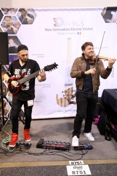 ANAHEIM, CALIFORNIA - JANUARY 16: Performers are seen at The 2020 NAMM Show Opening Day on January 16, 2020 in Anaheim, California. (Photo by Jesse Grant/Getty Images for NAMM)