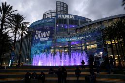 ANAHEIM, CALIFORNIA - JANUARY 16: Signage is seen outside of The 2020 NAMM Show Opening Day on January 16, 2020 in Anaheim, California. (Photo by Jesse Grant/Getty Images for NAMM)