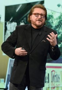 ANAHEIM, CALIFORNIA - JANUARY 18: Scott McKain speaks onstage at The 2020 NAMM Show on January 18, 2020 in Anaheim, California. (Photo by Jerod Harris/Getty Images for NAMM)