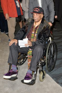 ANAHEIM, CALIFORNIA - JANUARY 18: Quincy Jones attends The 2020 NAMM Show on January 18, 2020 in Anaheim, California. (Photo by Jerod Harris/Getty Images for NAMM)