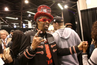 ANAHEIM, CALIFORNIA - JANUARY 18: Bootsy Collins attends The 2020 NAMM Show on January 18, 2020 in Anaheim, California. (Photo by Jesse Grant/Getty Images for NAMM)