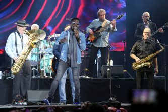 ANAHEIM, CALIFORNIA - JANUARY 18: Tower of Power perform onstage at The 2020 NAMM Show on January 18, 2020 in Anaheim, California. (Photo by Jesse Grant/Getty Images for NAMM)