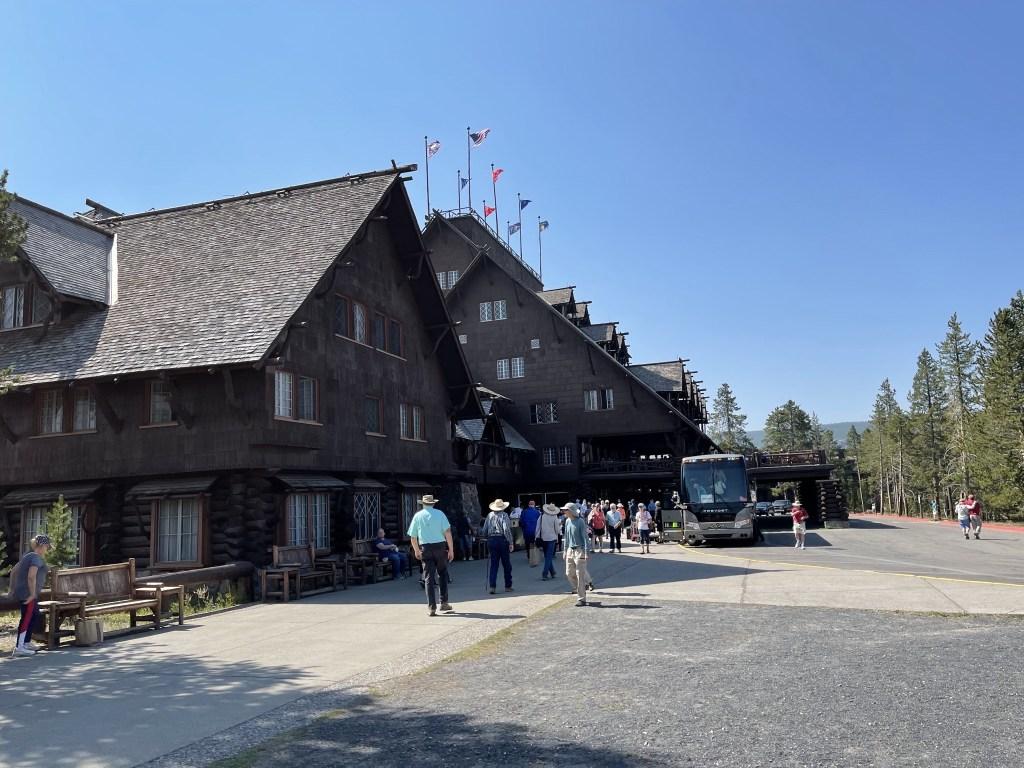 Old Faithful lodge