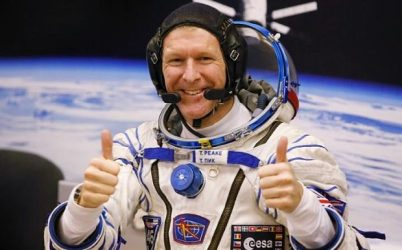Astronaut Tim Peake spent 6 months on the ISS