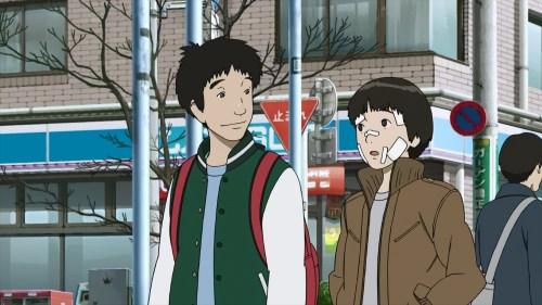 Makoto and Saotome