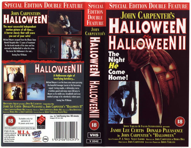 Image result for halloween 1 and 2 double feature