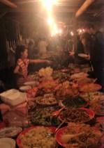 Laos - Luang Prabang - Buffet Night Market