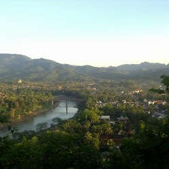 Laos - Luang Prabang - Mirador Monte Phou Si