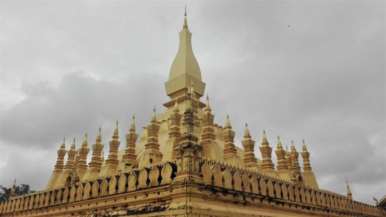 Laos - Vientiane - Estupa Pha That Luang