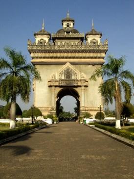 Laos - Vientiane - Monumento Patuxai