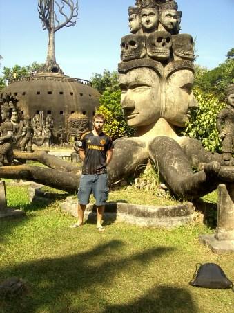 Laos - Vientiane - Visita al Parque Buda